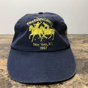 Vintage Polo Ralph Lauren Strap Hat Cap Big 90s